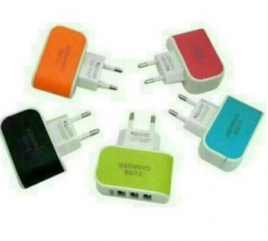 Jual Batok Charger 3 port  3,1 A