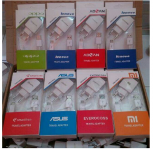 Jual Charger Android 2A Branded