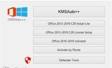 Permalink ke KMSAuto++ 1.5.5 Final Windows & Office Activator